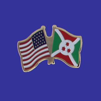 USA+Burundi Friendship Pin-0
