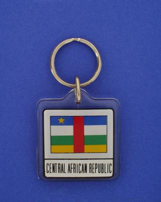 Central Africa Republic Keychain-0