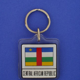 Central Africa Republic Keychain-0