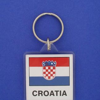 Croatia Keychain-0