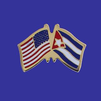 USA+Cuba Friendship Pin-0