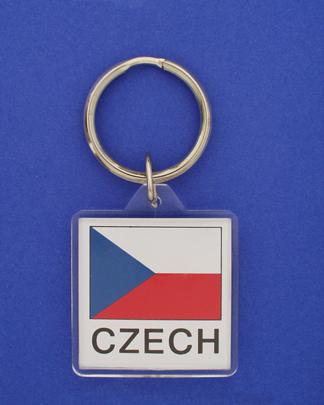 Czech Republic Keychain-1659