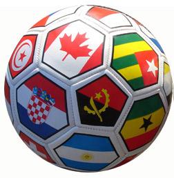 Multi Flag Soccer Balls-0