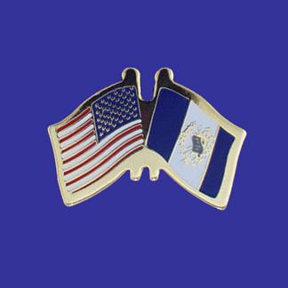 USA+Guatemala Friendship Pin-0