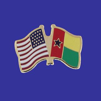 USA+Guinea Bissau Friendship Pin-0