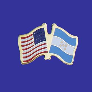 USA+Honduras Friendship Pin-0
