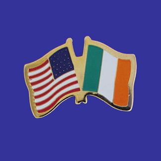 USA+Ireland Friendship Pin-0