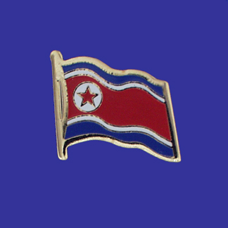 North Korea Lapel Pin-0