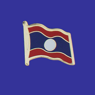 Laos Lapel Pin-0