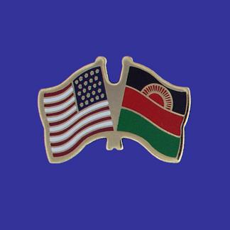 USA+Malawi Friendship Pin-0