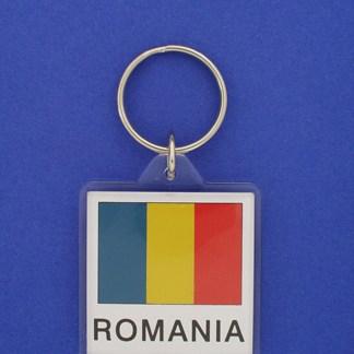 Romania Keychain-0