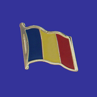 Romania Lapel Pin-0