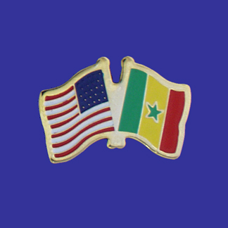 USA+Senegal Friendship Pin-0