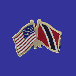 USA+Trinidad & Tobago Friendship Pin-0