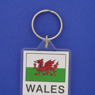 Wales Keychain-0