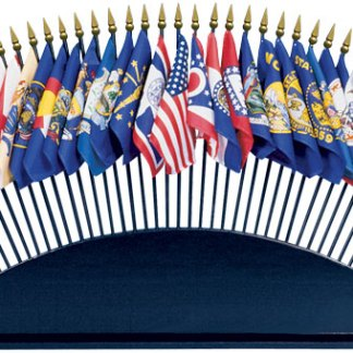 Desk Flag Stand-36 Hole-0