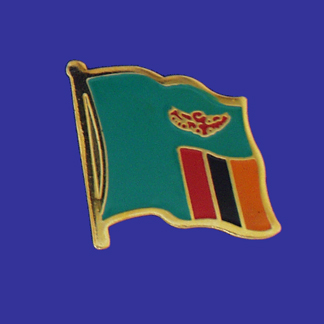 Zambia Lapel Pin-0