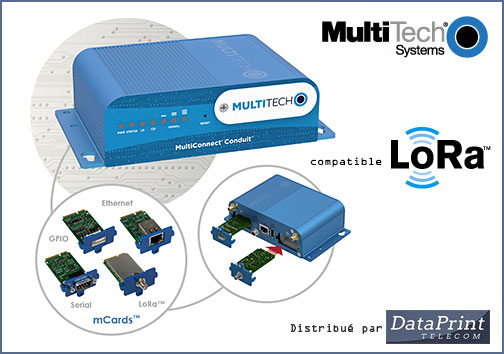 Gateway programmable MultiConnect Conduit de MultiTech