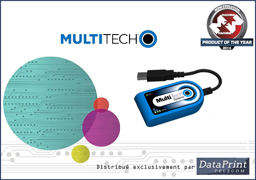 Dongle 3G+ QuickCarrier USB-D de MultiTech