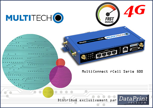 Routeur 4G MultiTech MultiConnect rCell Serie 500
