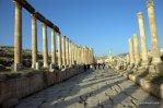 columns in Jerash, ancient Gerasa