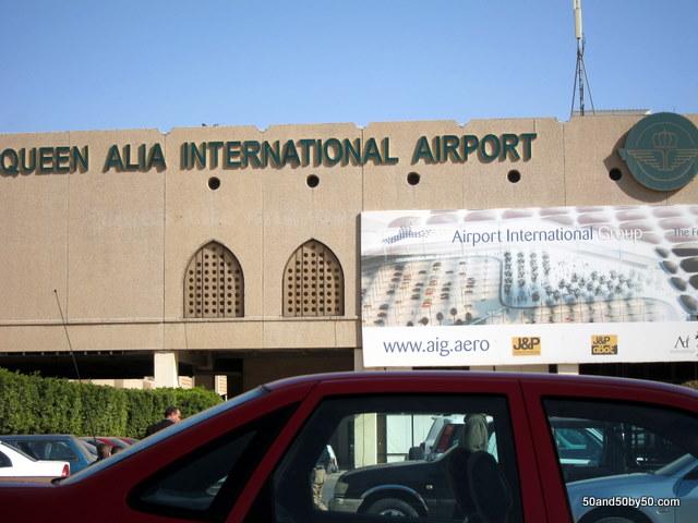 Welcome to Queen Alia International Airport in Jordan - the least helpful international airport