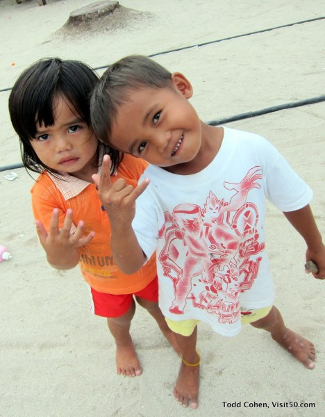 The Baby Rockstars try new poses