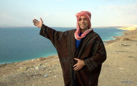 Dead Sea, in Jordan