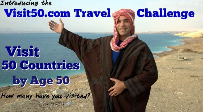 Visit50 Travel Challenge