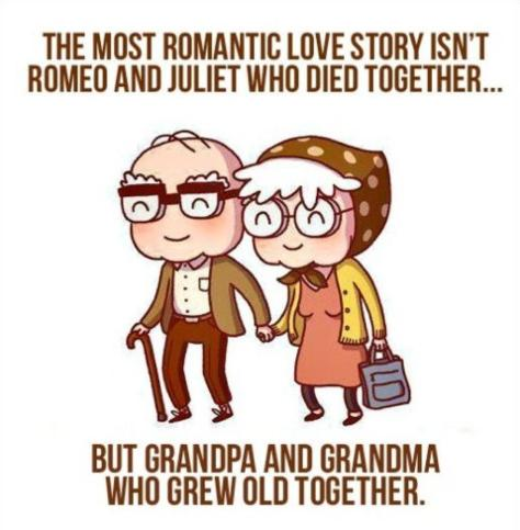 cartoon - The most romantic love story