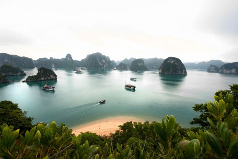 Halong Bay Vietnam from the lookout