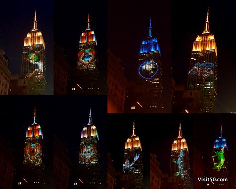 Endangered species on Empire State Building -005