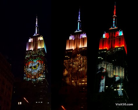 Endangered Animals on Empire State Building -007