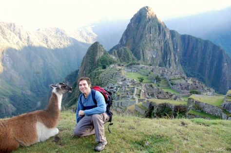 how I travel so much - with a llama including Peru and Machu Picchu!