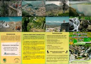 Programa de senderismo coin 2016