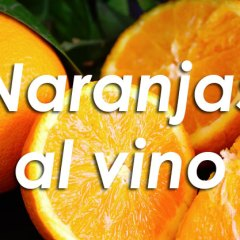 Naranjas al vino de Málaga