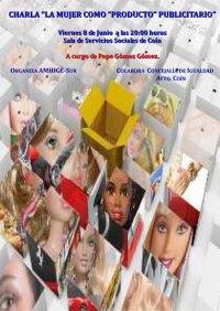 Charla sobre la mujer como producto publicitario