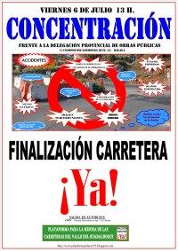 Cartel Concentración Carretera Ya Coin