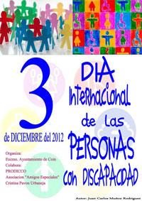 Jornadas personas con discapacidad 2012