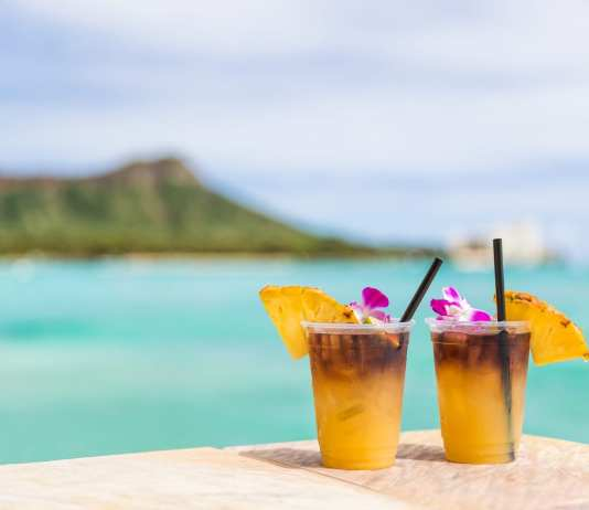 Hawaii Mai Tai Drinks in Maui
