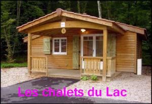 A proximité du Lac d'Amnéville, 15 Chalets vous accueille pour une nuit ou plus au calme dans la nature
