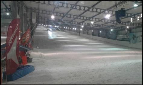 piste de ski snowhall