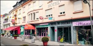 Hôtel du Centre de 47 Chambres situé à Hagondange à 4 km d'Amnéville