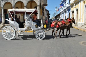 Paseo en coche Granada Nicaragua