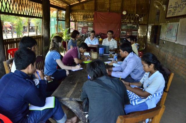 Baray Reach Dak CBT visits Banteay Chhmar