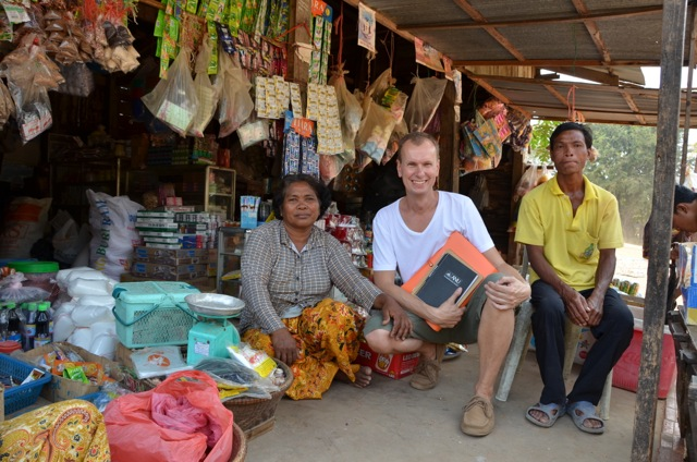 Simon Pawson in Banteay Chhmar
