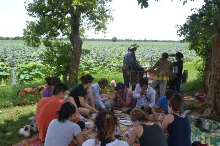Picnic by the baray