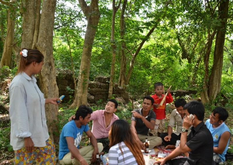Temple picnic
