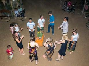 Traditional Khmer dancing