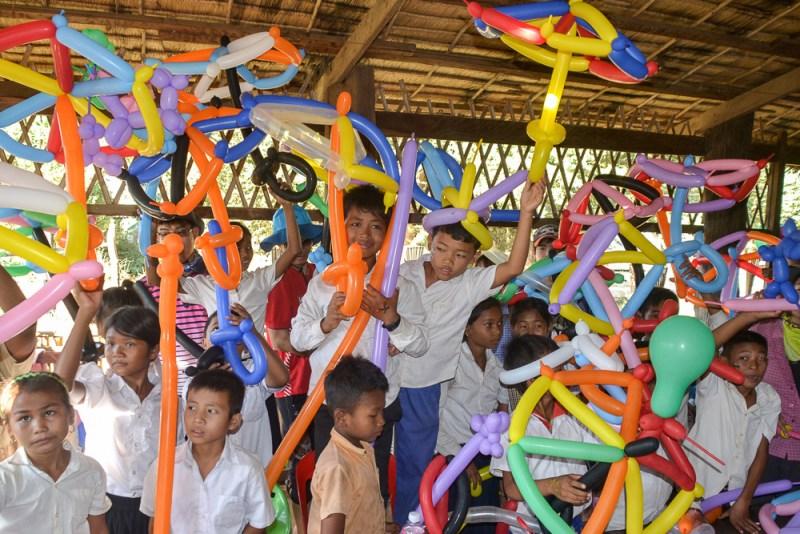 Banteay Chhmar community library